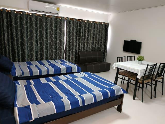 Stay@1012 เมืองทองธานี C6 (1-2 guests)