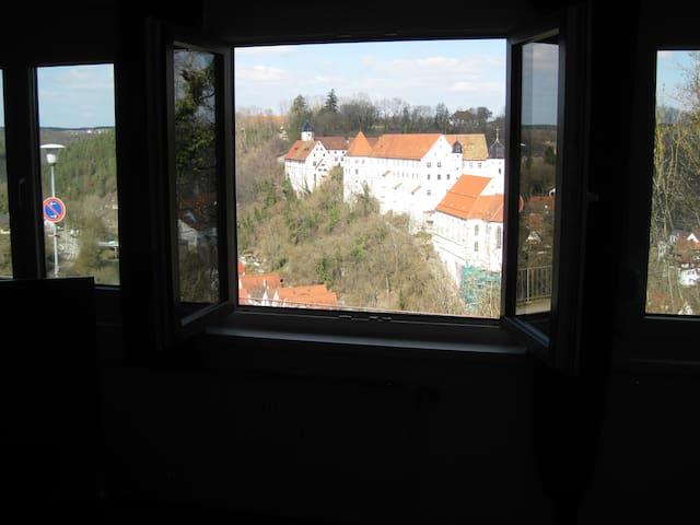 Großzügige Fewo mit Eyachtalblick - Haigerloch - Квартира