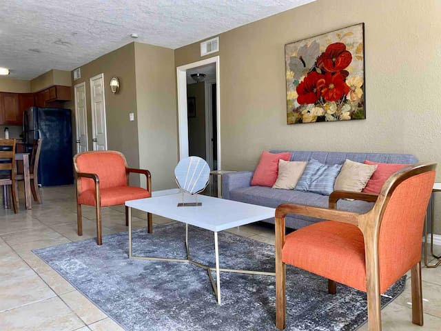 ❤️ Modern Apartment. Close to Kemah * Galveston USA