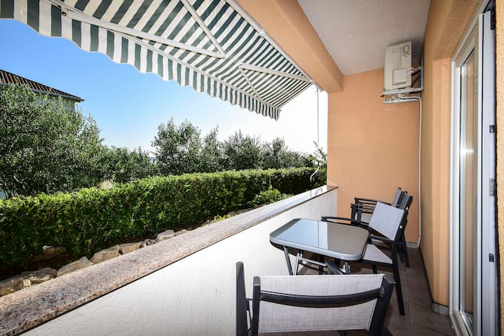 Apartment Jidra 2 with Terrace and Pool
