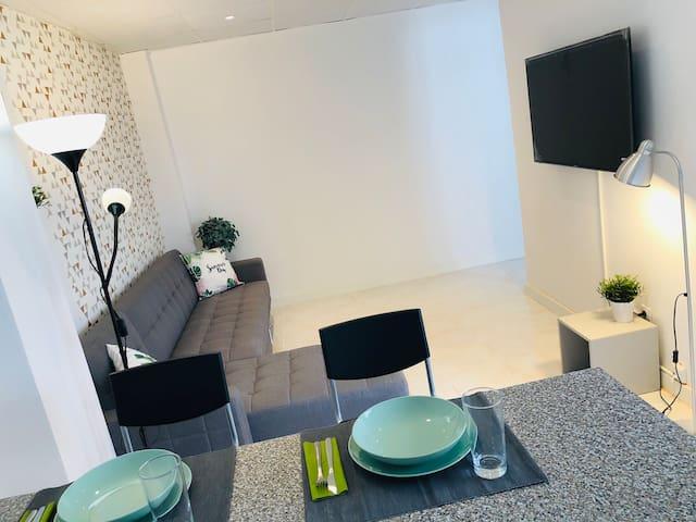 Cosy apartament  Netflix en el centro de Zaragoza