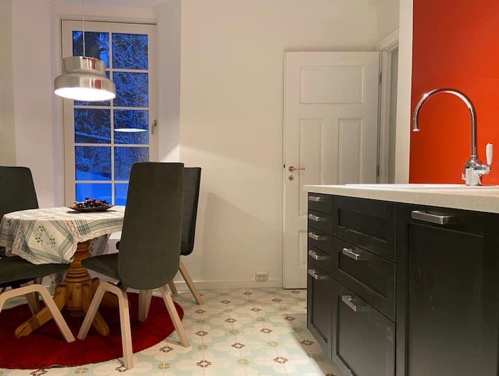3-roms leilighet med gulvvarme og 2 soverom
