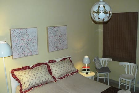Air conditioned twin room with private bathroom.