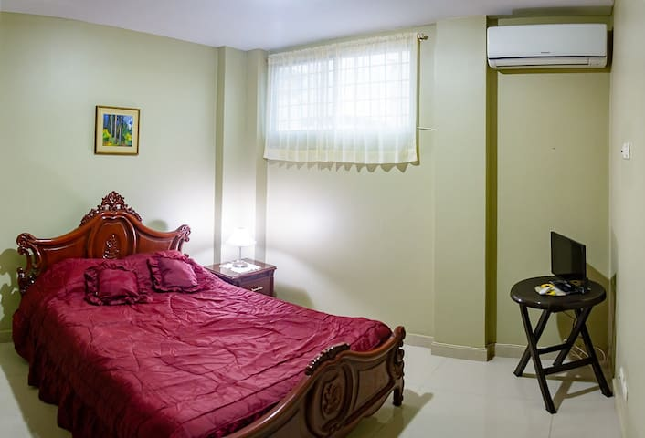 Cosy furnished apt. suite,3rd floor-Kennedy Norte - Guayaquil - Daire