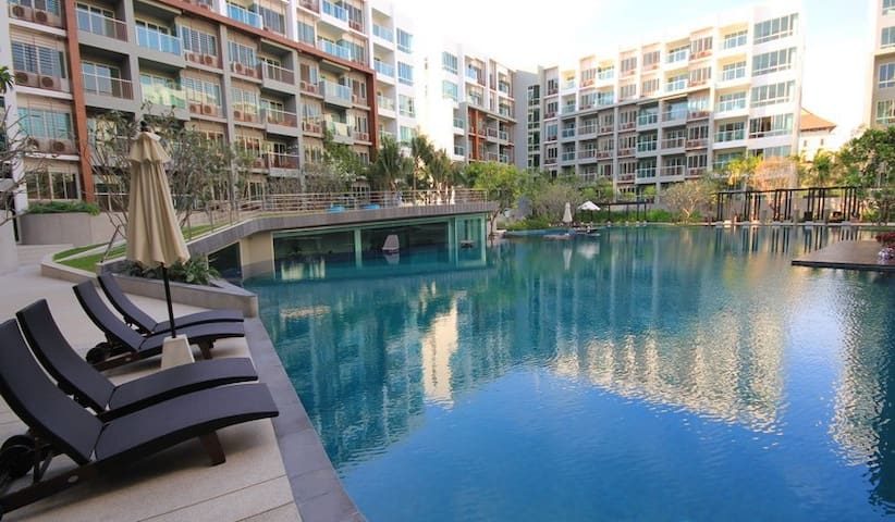 relaxing condo near the beach - Hua Hin - Appartement en résidence