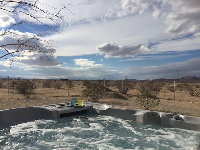 Hot tub views