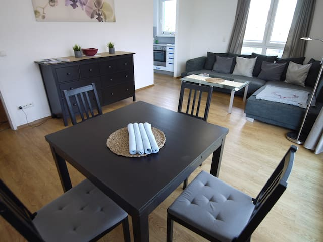 Modern & cosy flat - close to  city center