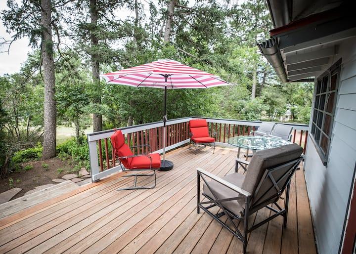 Bear Dance Cañon Cabin, 1200 sq. ft. Privacy