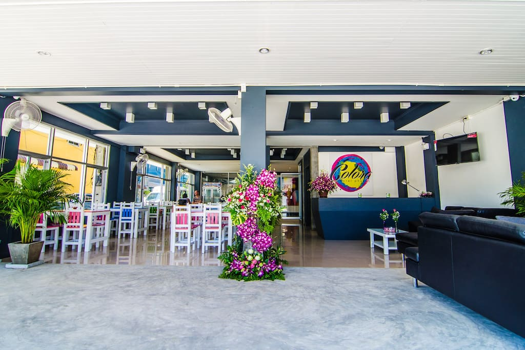 Colors is a must for Colora Hotel. Welcome at our reception and Restaurant