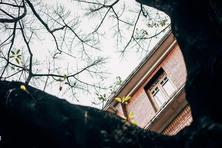 {1号别墅·贰}精选广州越秀东山口的特色老别墅·民国红砖别墅建筑群·东山口·越秀·广州 - Guangzhou Shi - Villa