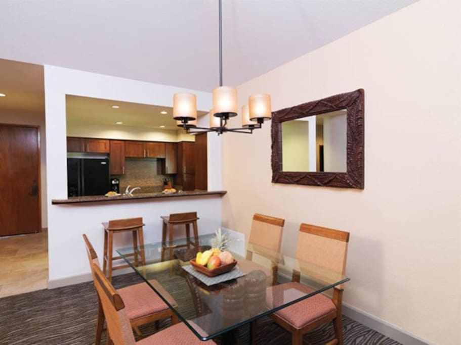 Dining area with Full kitchen