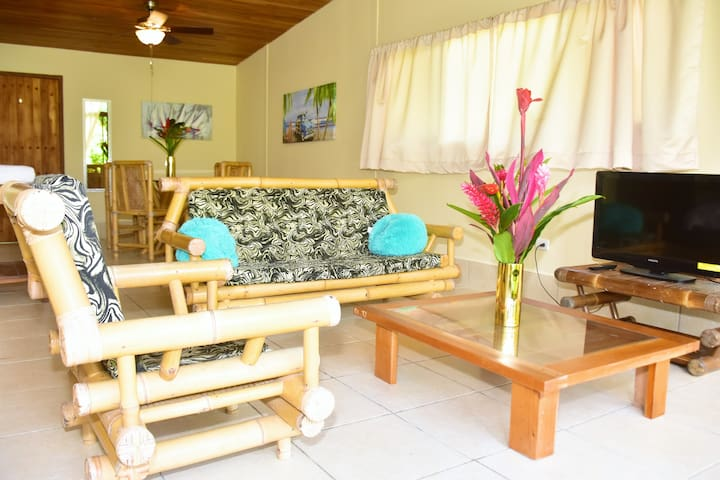 Tropical Studio Apartment near Quepos, sleeps 4