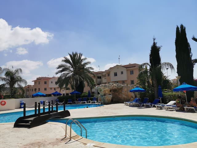 Pyla Resort Home with Swimming pool + Tennis Court