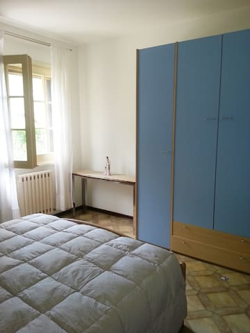 Main bedroom. So elegant. Very spacious, and airy.