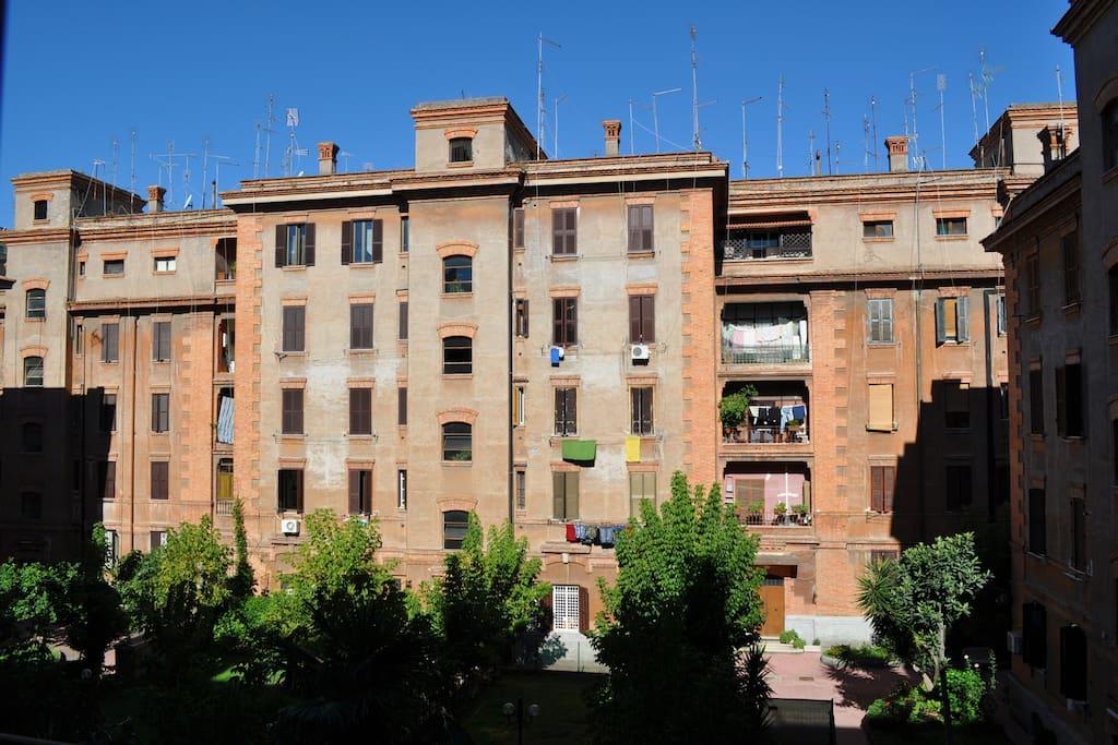 Roma centro rionexx testaccio condominiums in affitto a for Roma centro affitto