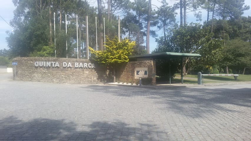 Quinta da Barca - Entrada do resort