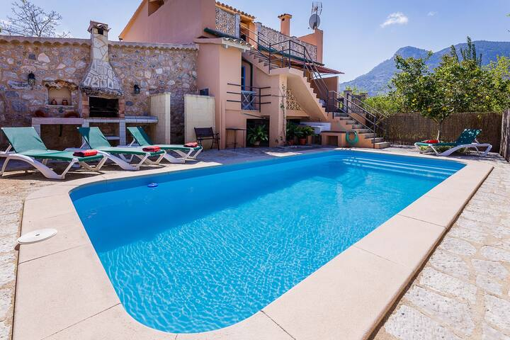 NEW! Can Guida: House with pool in Sóller