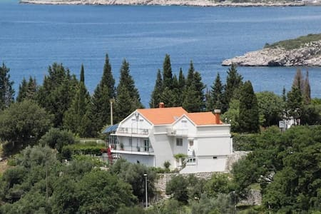Studio flat with balcony and sea view Plat, Dubrovnik (AS-2136-a) - Plat - Andere