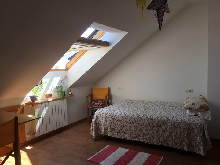 Habitación con encanto.