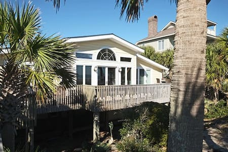 North Litchfield 1020 - 6BR Oceanfront House - Pawleys Island - Dom