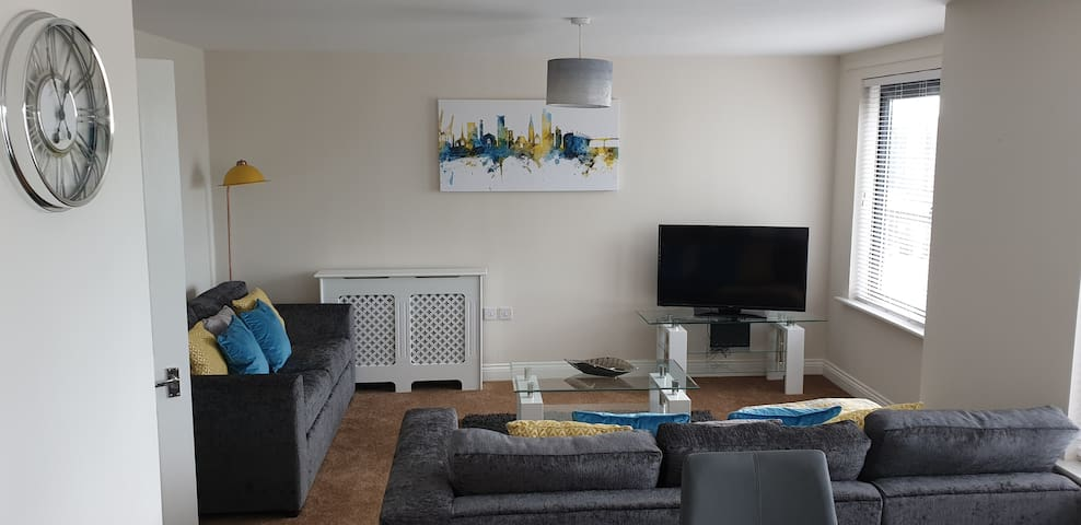 Southampton City-Appartement en attiq-Appartement-Vue ville-Douche