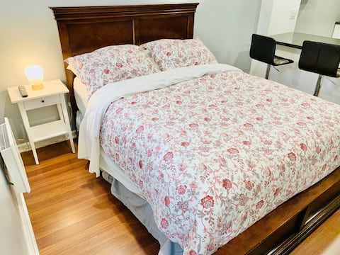 Homelike Bachelor in Montreal, Private Entrance
