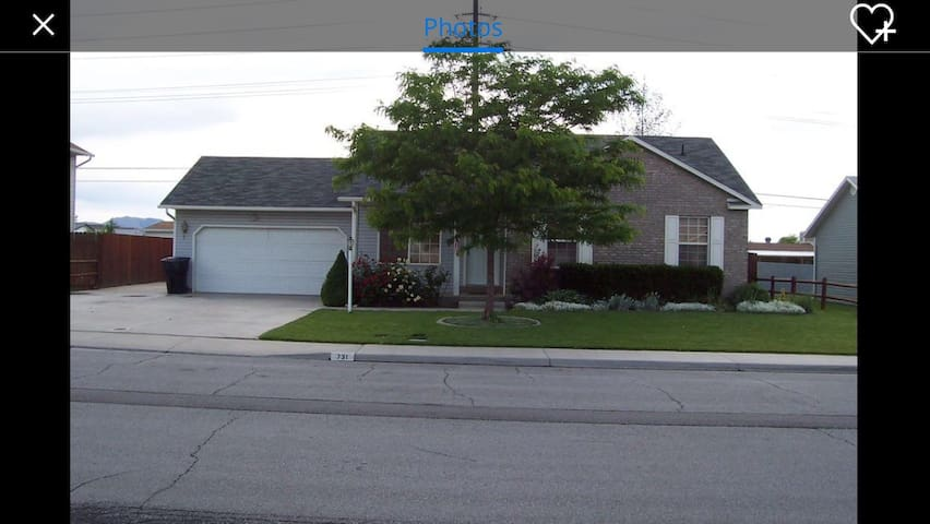 2 bedrooms, 1 bath SF home - Spanish Fork
