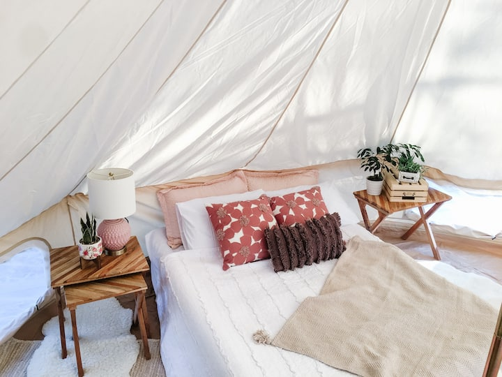 NEW Glamping tents in Prince Edward County