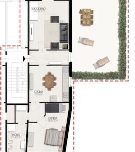 Casa di Milli - Spazioso appartamento a Vicopisano