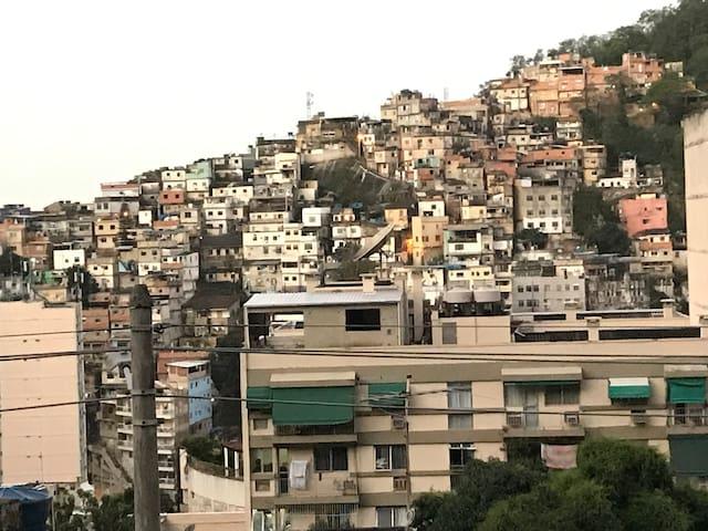 Cuarto privado. Favela dos Tabajaras. RIO DJANEIRO