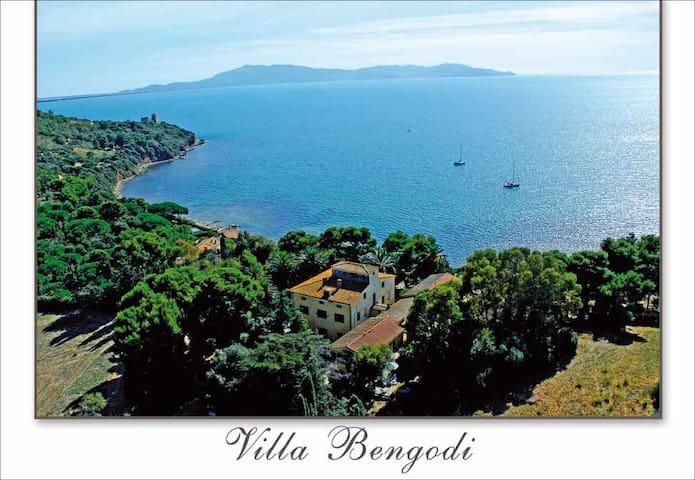 Villa Bengodi, camere sul mare, golfo di Talamone - Talamone - Bed & Breakfast