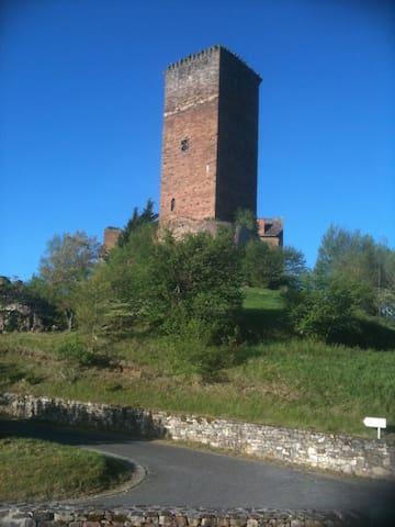 Vue tour du château