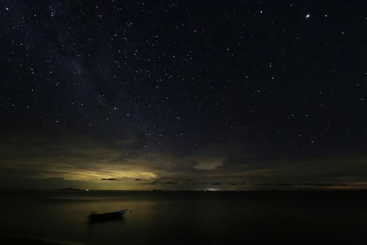 Night view at Nipah Captured by  Davide