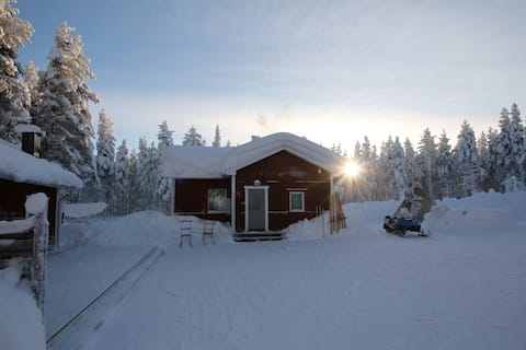 Guesthouse and Sauna cabin