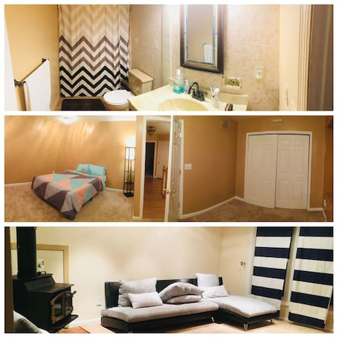 Spacious and Cozy room near Downtown Albany!