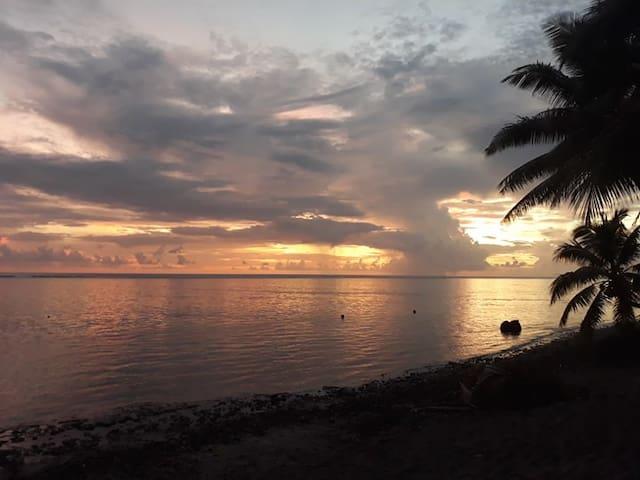 Papara - Accès privé à la mer