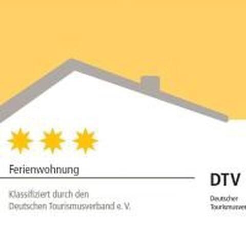 Klassifiziert vom DTV mit 3 Sternen