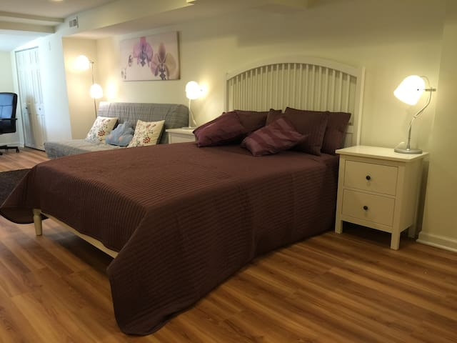 Private Suite with Bed & Bath @JHU! - Baltimore - Casa