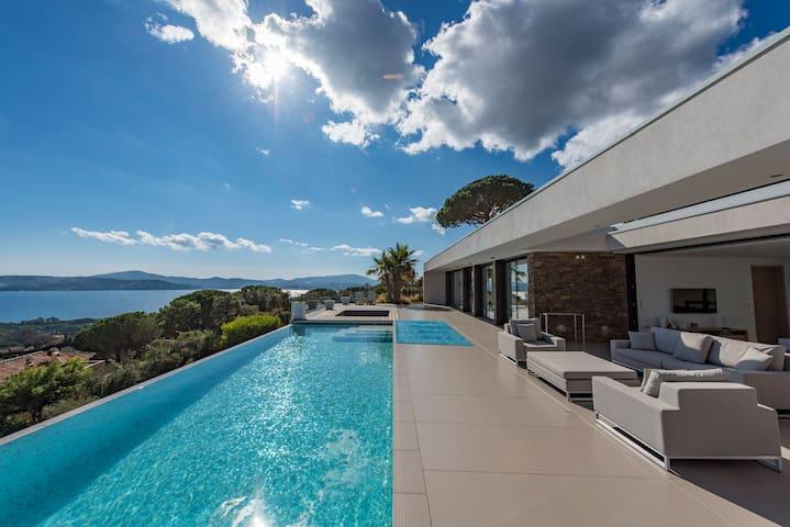 Villa Taha'a, Golfe de Saint Tropez - グリモー - 一軒家