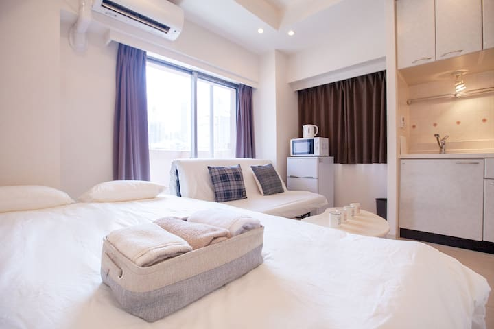 Bright apartment-double bed and a sofa bed - 4 ppx
