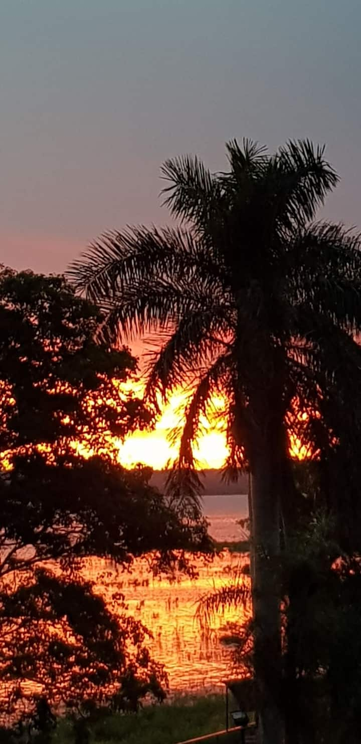 Sunset entre Palmeras