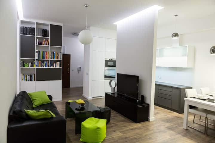 Exclusive and modern apartment in Wroclaw
