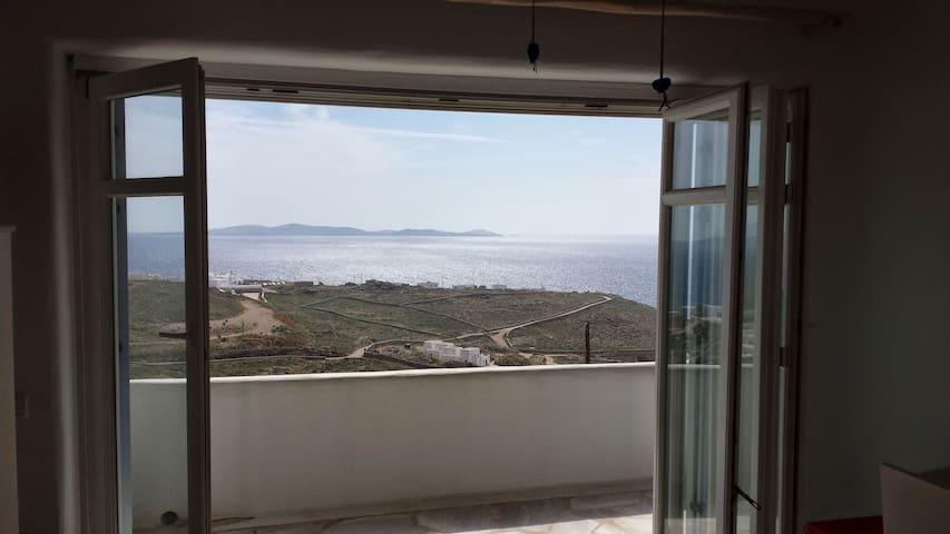 Sublime view house - Mikonos - Huis