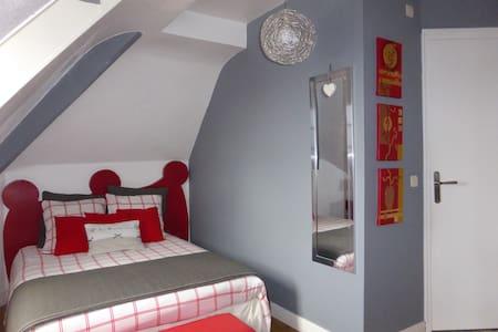 Chambre Toutencarton - Eslettes