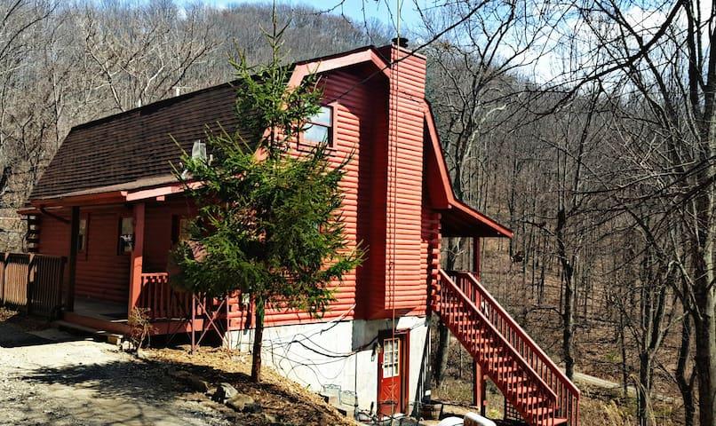 Log Cabin near Asheville North Carolina - Weaverville - Kabin