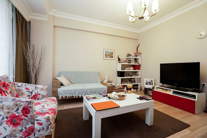 Local Experience in Beautifully Decorated Flat - Esenler - Apartamento
