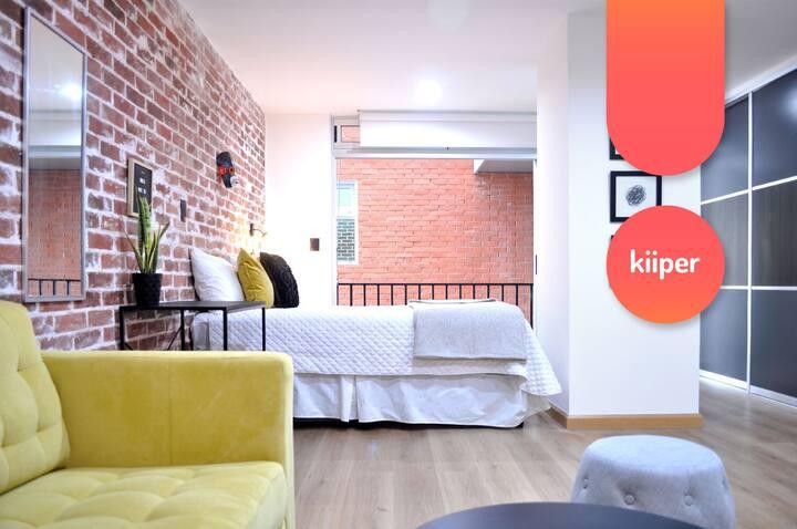 kiiper | Cómodo & Amplio Apartamento | 2 PPL