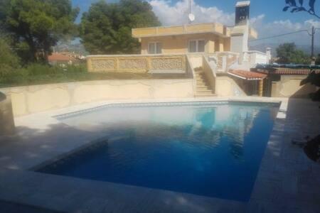 Agradable y bonita villa con piscina privada - Les Tres Cales
