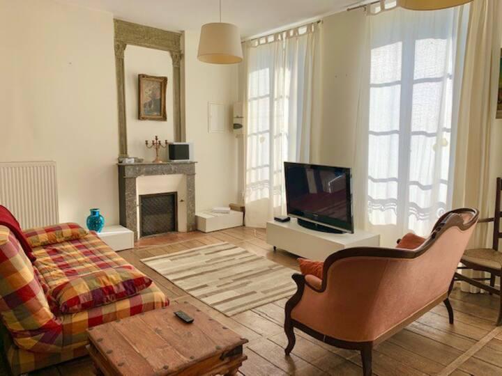 Bel appartement avec jardin privé centre Riberac