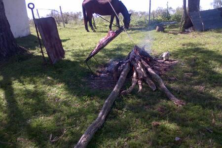 En la paz del campo!Uruguay Natural.